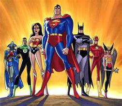 Superheroes of the Justice League